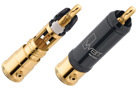 WBT 0152 Cu Topline Nextgen RCA Phono Connectors