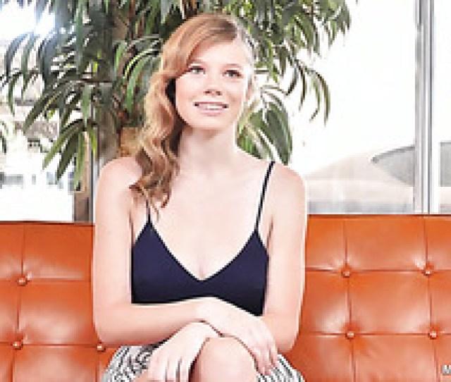 Redhead Mia Collins In Her First Professional Porno Scene
