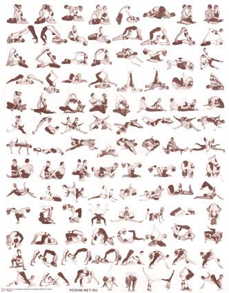 Йога С Описанием В Картинках
