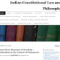 Indian Constitutional Law and Philosophy