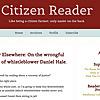 Citizen Reader   Nonfiction Blog