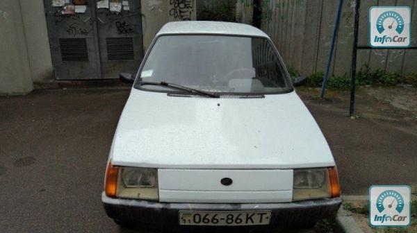 Купить автомобиль ЗАЗ Таврия-Нова 2002 (белый) с пробегом ...