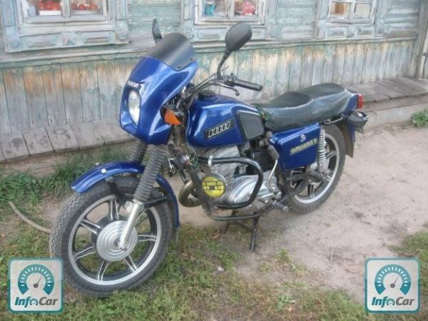 Купить мотоцикл Иж Планета 5 1993 (синий) с пробегом ...