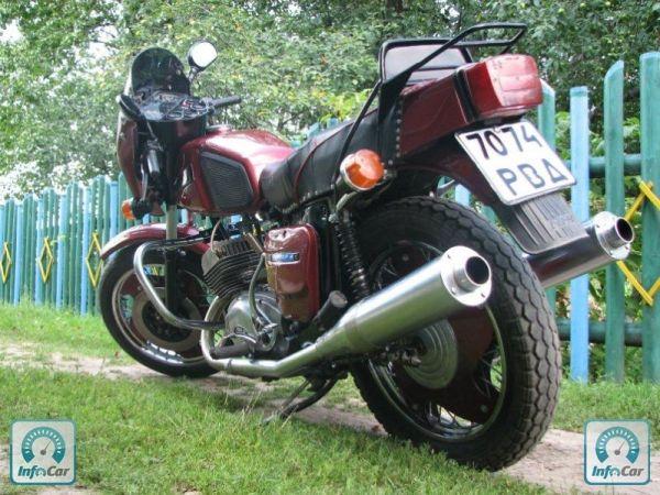 Купить мотоцикл Иж Юпитер 5 ИЖ Ю5 1991 красный с