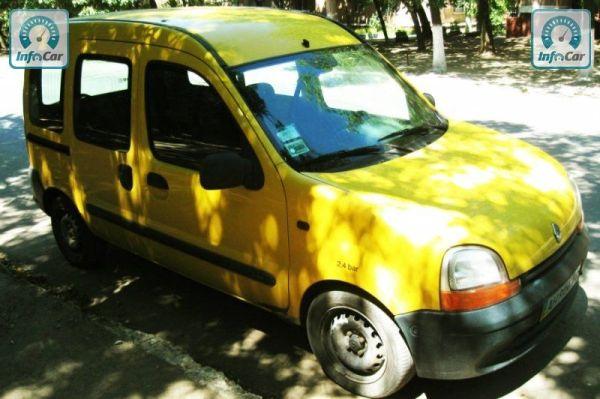 Купить автомобиль Renault Kangoo 2000 желтый с пробегом