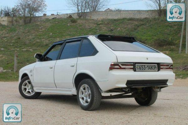 Купить автомобиль Москвич/АЗЛК 2141 1991 (белый) с ...