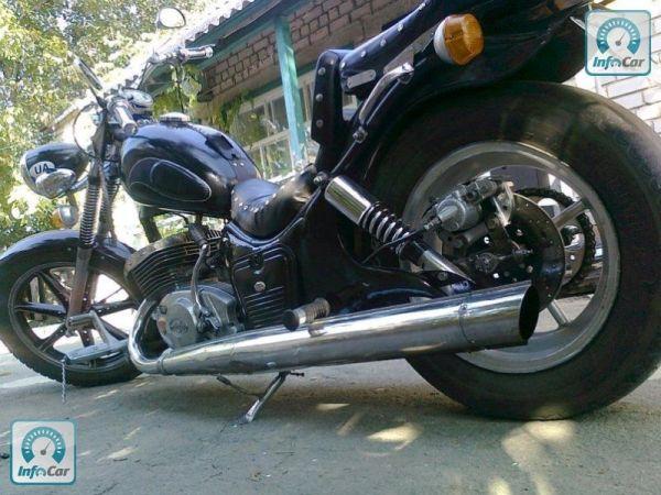 Купить мотоцикл Иж Юпитер 5 Кастом 2009 черный с