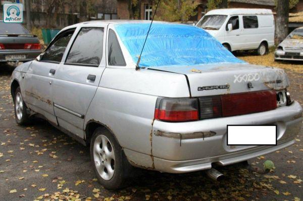 Купить автомобиль ВАЗ 2110 2003 (серебряный) с пробегом ...