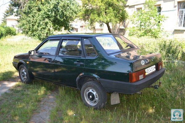 Купить автомобиль ВАЗ 21099 2003 (зеленый) с пробегом ...
