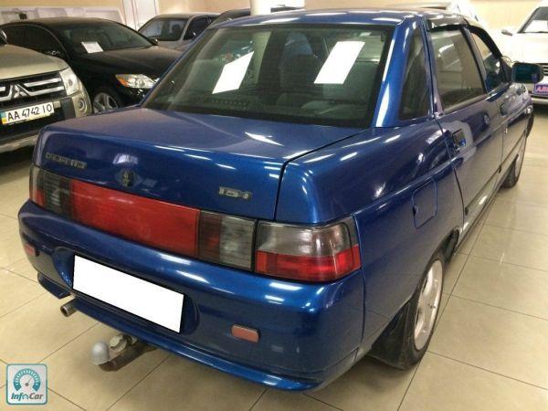Купить автомобиль ВАЗ 2110 2007 (синий) с пробегом ...