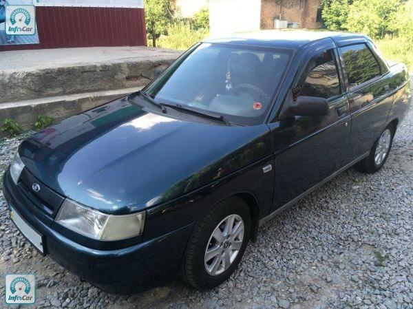 Купить автомобиль ВАЗ 2110 2005 (синий) с пробегом ...