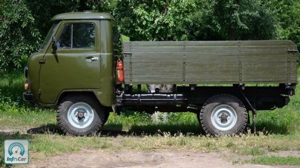 Купить автомобиль УАЗ 452 1987 (зеленый) с пробегом ...