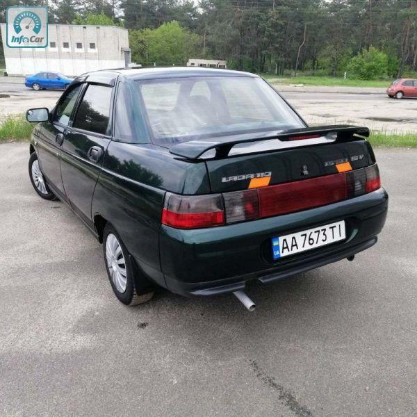 Купить автомобиль ВАЗ 2110 Газ Бензин 2005 (зеленый) с ...