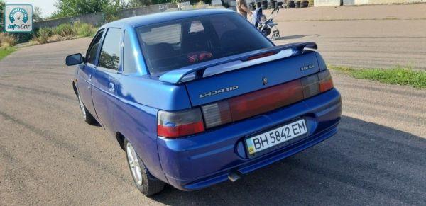 Купить автомобиль ВАЗ 2110 2002 (синий) с пробегом ...