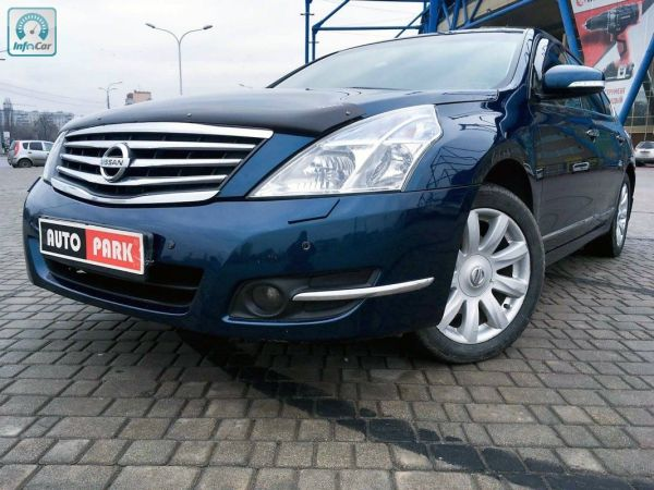 Купить автомобиль Nissan Teana 2008 (синий) с пробегом ...