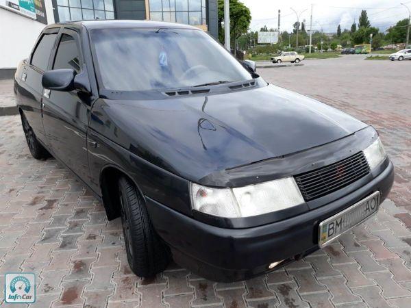 Купить автомобиль ВАЗ 2110 Tuning ГБО 2010 (черный) с ...