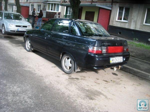 Купить автомобиль ВАЗ 2110 2007 (черный) с пробегом ...