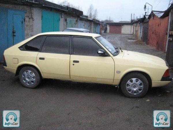 Купить автомобиль Москвич/АЗЛК 2141 1987 (желтый) с ...