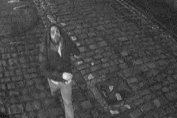 Police investigating the attempted rape of a woman in Manchester city centre want to speak to this man.