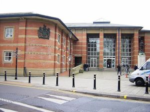 The mum of two was at Stafford Crown Court (file picture) on Monday to hear Walters enter his guilty pleas