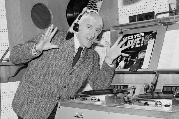 Beast: Savile in his studio at the peak of his fame and depravity