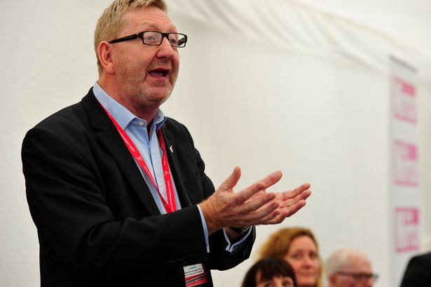 Len McCluskey at the Daily Mirror Real Britain Fringe