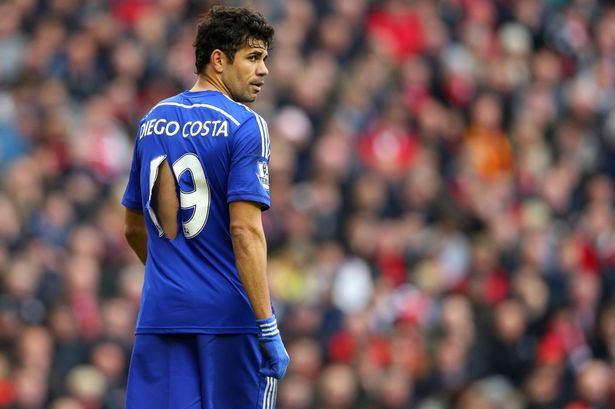 Chelsea's warrior, Diego Costa