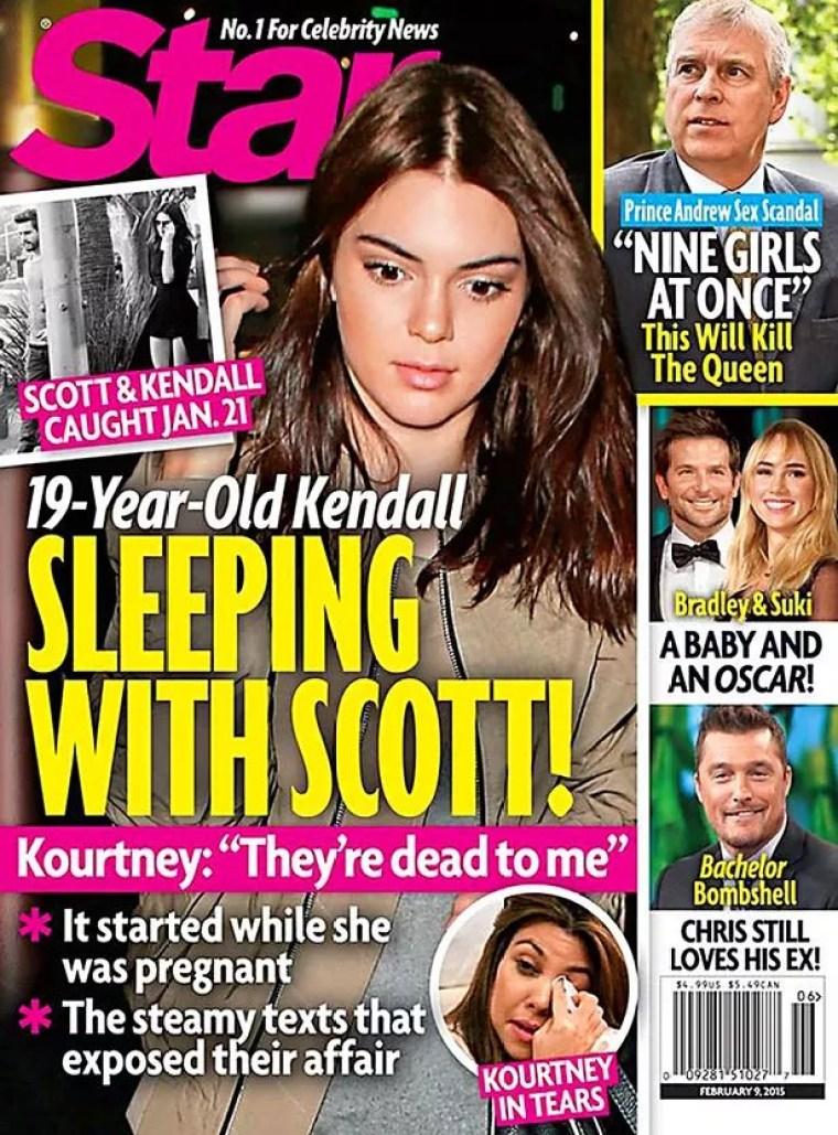 Star Magazine Kendall Jenner