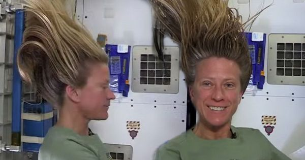 How do astronauts wash their hair in space Mirror Online