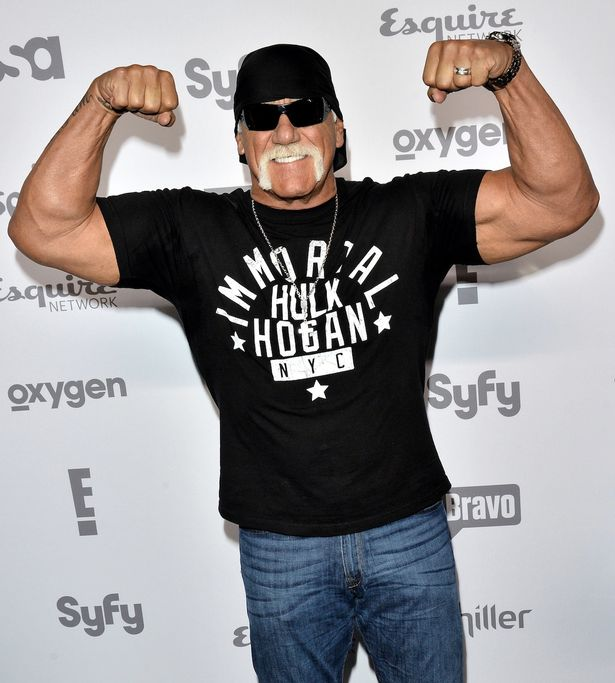 Hulk Hogan attends the 2015 NBCUniversal Cable Entertainment Upfront