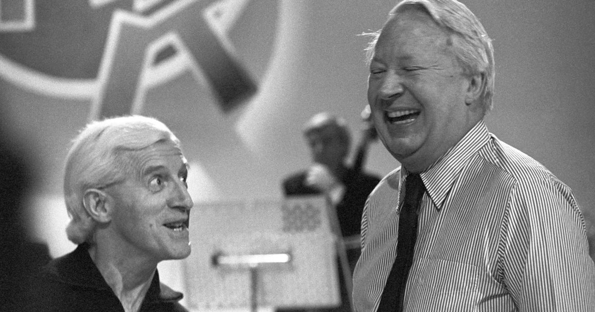 Image result for savile and ted heath
