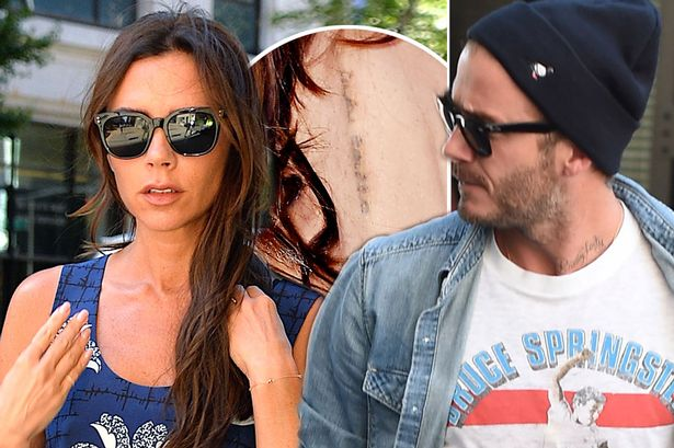 Victoria Beckham slams marriage on the rocks rumours and denies getting her tattoo removed