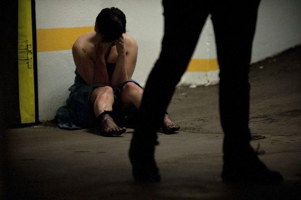 Female rape victim
