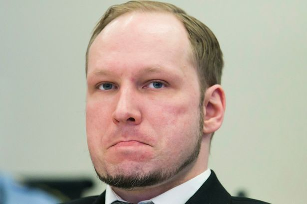 Anders Behring Breivik, who killed 77 people in twin attacks in Norway