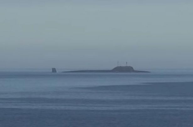 Submerged Russian nuclear sub fires Kalibr cruise missile in Arctic drills