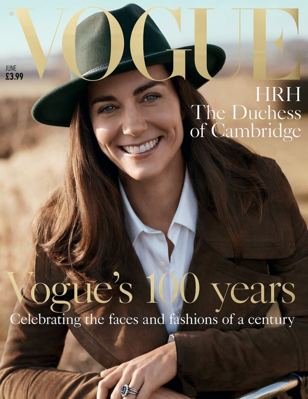 PROD-Duchess-of-Cambridge-Catherine-Middleton-Vogue-cover-June-2016 Photos: Kate Middleton covers Vogue Magazine
