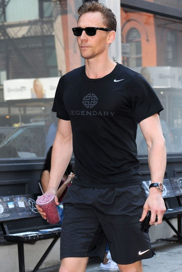 Tom Hiddleston in Soho, New York