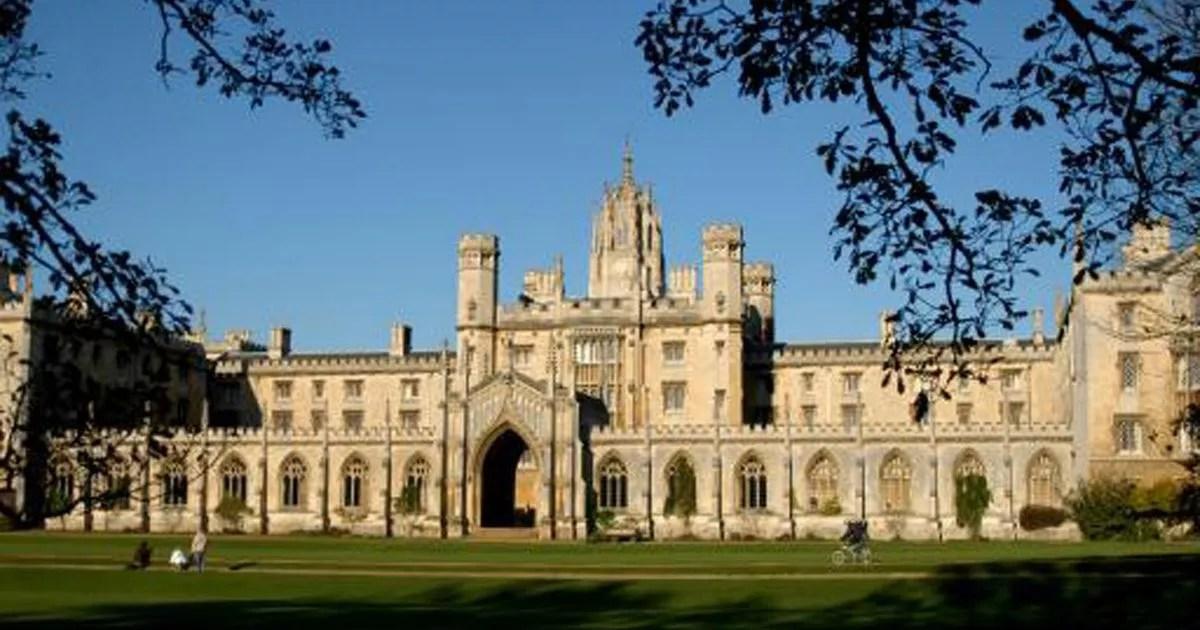 Cambridge Universitys Best Bum Contest Causes Outrage Mirror Online