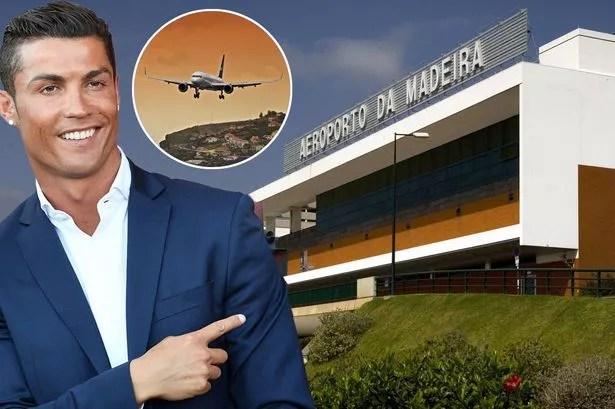Cristiano ronaldo airport