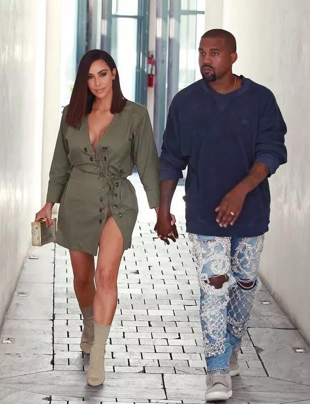 Image result for kim kardashian and hubby causal 2016