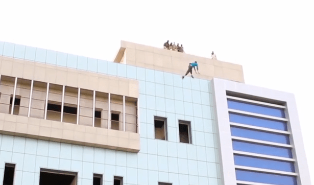 ISIS brutally throw homosexuals from the roof of buildings