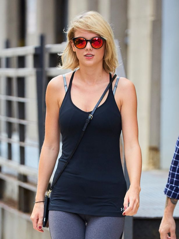 aylor Swift spotted departing her gym in New York City