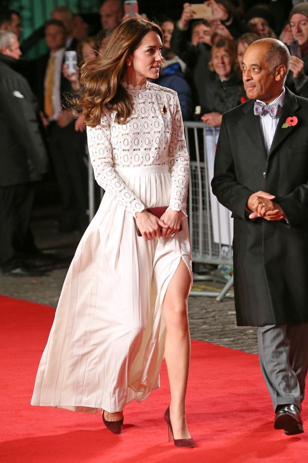Catherine Duchess of Cambridge at the 'A Street Cat Named Bob' world film premiere