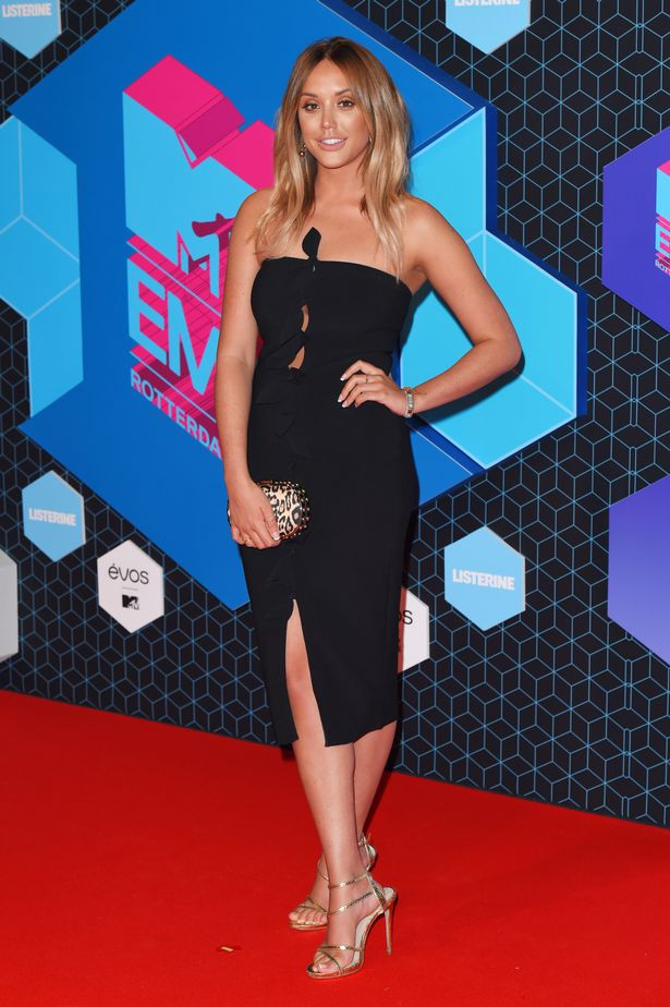 Charlotte Crosby at The 2016 MTV European Music Awards
