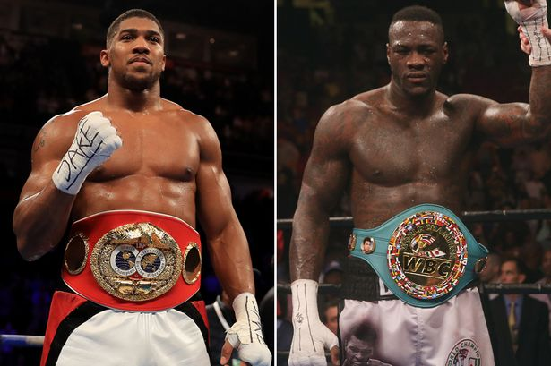 Image result for Joshua VS Wilder