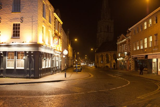 Where Ken Selway use to eat out of bins when he was homeless in Gloucester, Gloucestershire