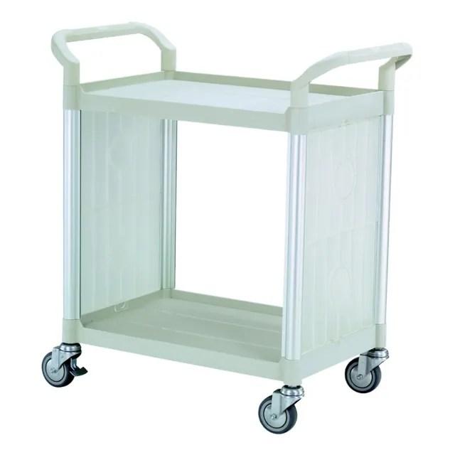 【COLOR】精緻標準型2層側圍邊工具/餐推車(高級儀器輪)