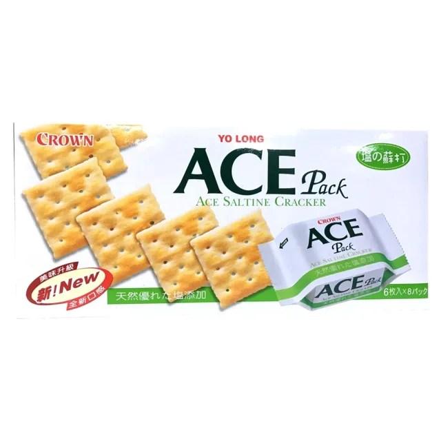 【CROWN】ACE優龍原味蘇打餅乾(149g)