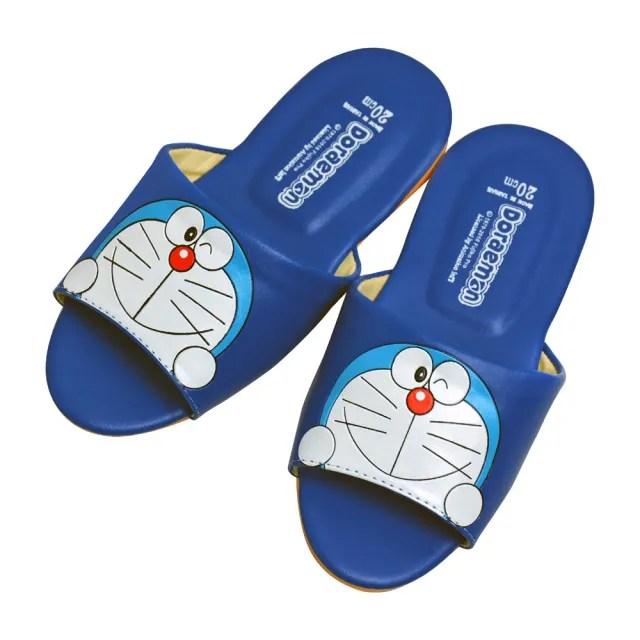 【Doraemon 哆啦A夢】兒童室內皮拖(DM5686)