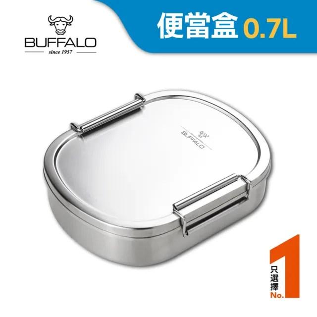 【Buffalo 牛頭牌】牛頭牌 雅登便當盒M(0.7L)
